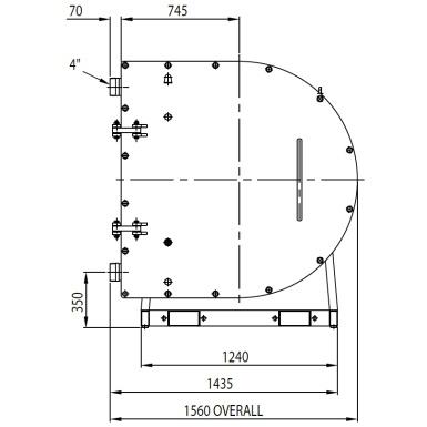 L100 (100mm-4″)Peristaltic Pump Information
